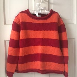 Garnet Hill Children's sweater, size S, 4-5 years